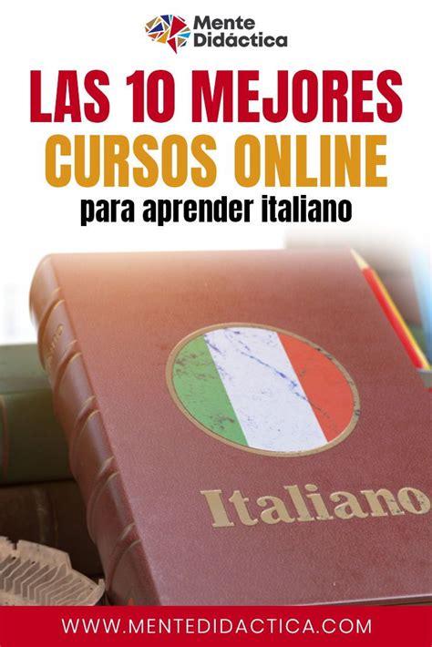 Los 10 mejores cursos online para aprender italiano # ...