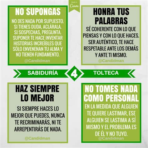 Los 4 acuerdos de la #Sabiduria #Tolteca . #Candidman # ...