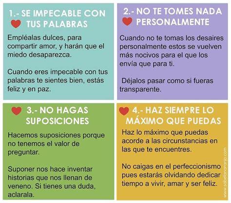 Los 4 Acuerdos de la Sabiduría Tolteca   Cree en Vos ...