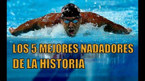 LOS 5 MEJORES NADADORES DE LA HISTORIA   YouTube