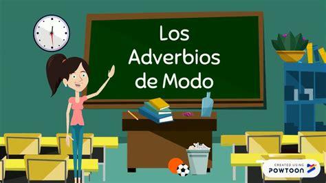 Los Adverbios de Modo   YouTube