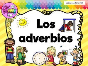 Los adverbios de tiempo, modo y lugar – Material Educativo