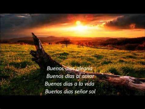 Los Ángeles Azules   Buenos Días Señor Sol  Letra Canción ...