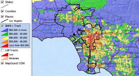 Los Angeles, California Community & Regional Demographic ...
