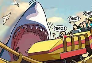 Los Angeles Shark   Juega gratis online en Minijuegos