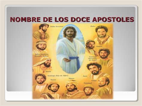 Los apóstoles  alejandro rivas 1°  b