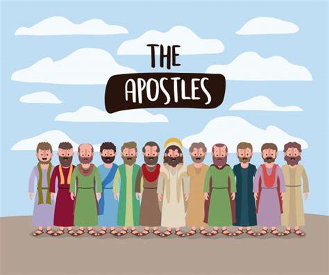 Los apóstoles y jesús en la escena diaria en el desierto ...