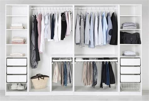 Los armarios abiertos Ikea para crear un vestidor en tu ...