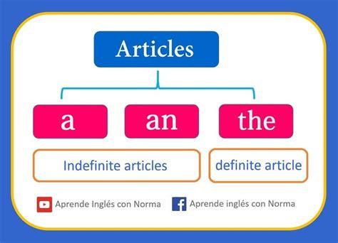 Los artículos en inglés. | Artículos en inglés y Gramática ...