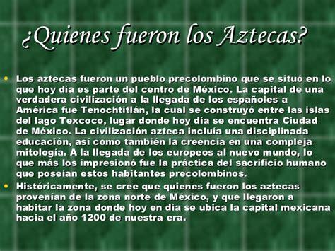 Los aztecas 2 b