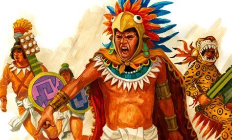 Los aztecas tenían una religión en donde se sacrificaban a ...