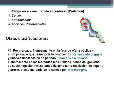 Los bonos: generalidades  Presentación PowerPoint ...