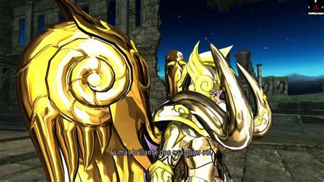 Los Caballeros Del Zodiaco Alma De Soldado Combate De Oro ...