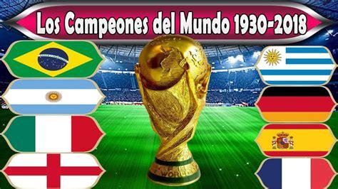 Los Campeones del Mundo 1930 2018   YouTube