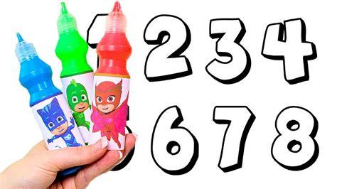 LOS COLORES  Aprendemos los números pintando con los ...