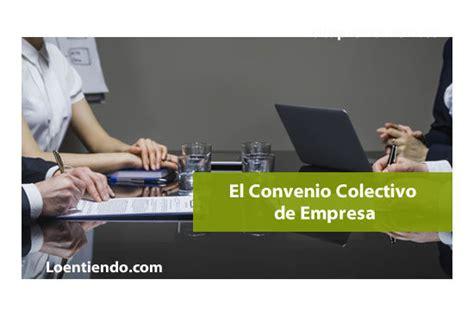 Los Convenios Colectivos de Empresa   Laboral 2020 ...