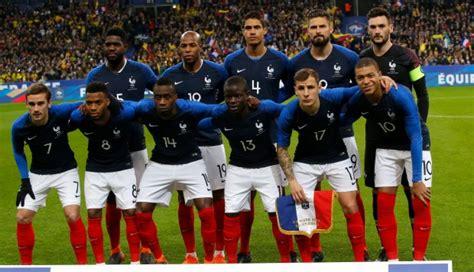 Los convocados de la selección de Francia para el Mundial ...