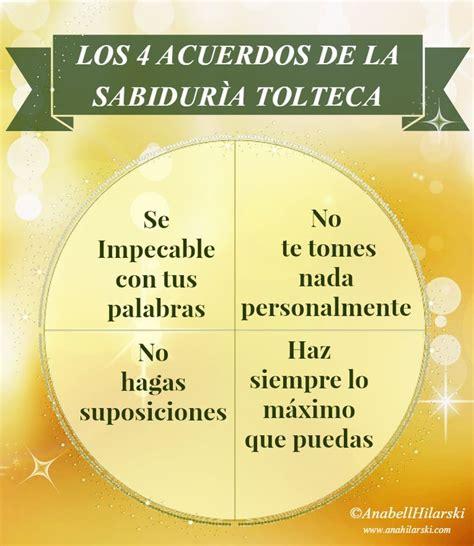 Los cuatro acuerdos de la sabiduría Tolteca. #Motivacion # ...