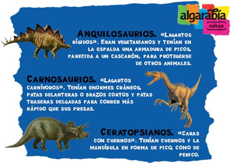 Los dinosaurios | Algarabía niños