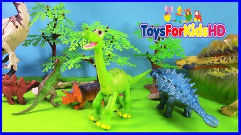 Los Dinosaurios para niños Apatosaurus   Videos de ...