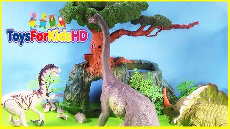 Los Dinosaurios para niños Brachiosaurus   Videos de ...