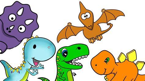 Los dinosaurios. Video para niños con dibujos. Los ...