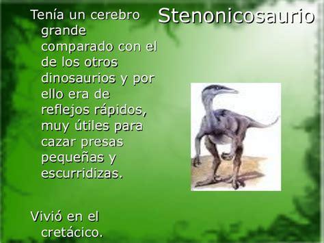 Los dinosaurios y su historia