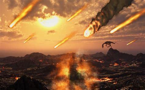 Los dinosaurios ya se extinguían antes de que un asteroide ...