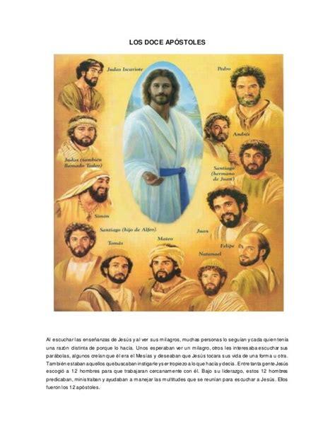 Los doce apóstoles con imagen   Apóstoles de jesús ...