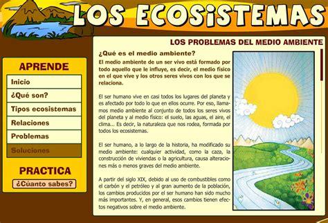 Los ecosistemas  CEIP Mariano Castillo    Didactalia ...