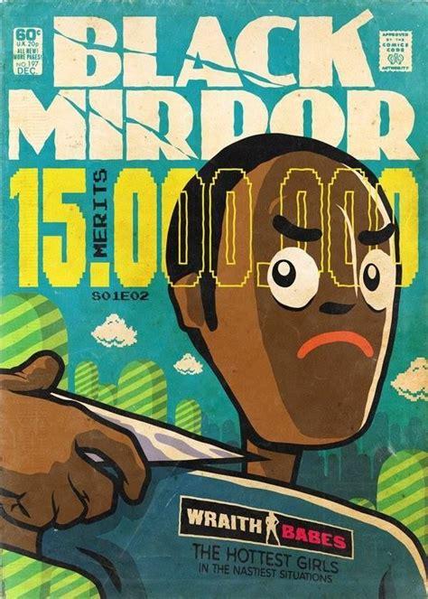 Los episodios de  Black Mirror  convertidos en portadas de ...