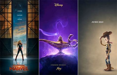 Los estrenos más esperados de Disney en el año 2019 | Mira