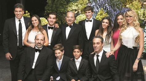 Los hijos de Carlos Slim Helú