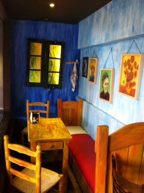 Los Ingredientes de La Vida:  Café Van Gogh en Madrid