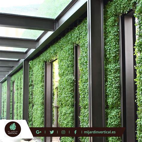 Los Jardines Verticales y la fachada deslizante vegetal ...