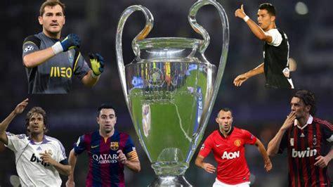 Los jugadores con más partidos en la Champions League   AS.com