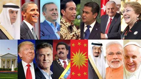Los líderes mundiales más influyentes en las redes ...