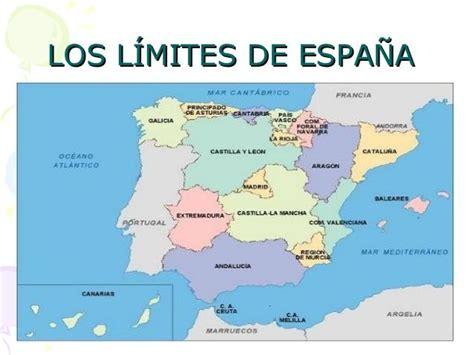 Los límites de España | Mapa de españa, España, Andalucía