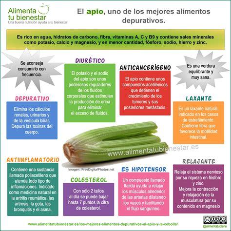 Los mejores alimentos depurativos: el apio y la cebolla