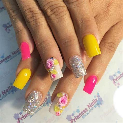 Los mejores decorados en uñas acrilicas