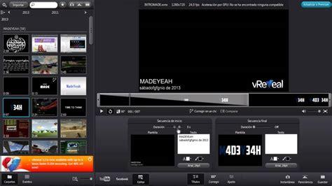 Los mejores editores de vídeo GRATUITOS #3 | VReveal   YouTube