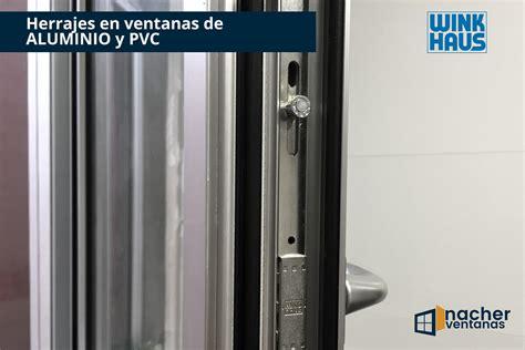 Los mejores herrajes para ventanas de aluminio y PVC,