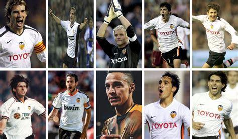 Los Mejores Jugadores del Valencia CF que Vistieron Dorsal
