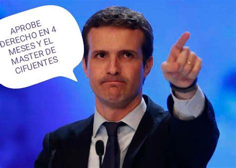 Los mejores memes de Pablo Casado como presidente del PP