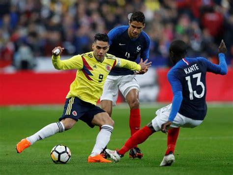 Los mejores momentos del partido Colombia vs. Francia ...