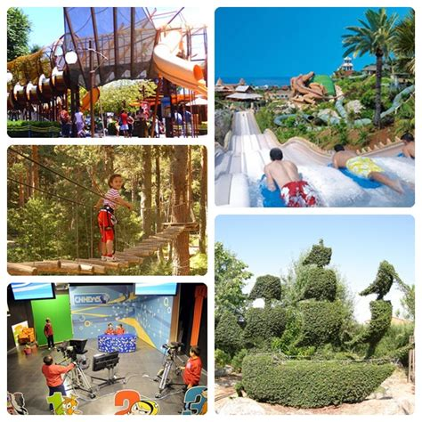 Los mejores parques temáticos de España   Pequeocio