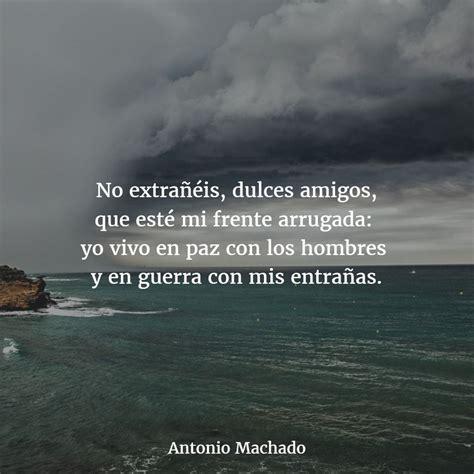 Los mejores Poemas de ANTONIO MACHADO 【Versos】   Poemas ...