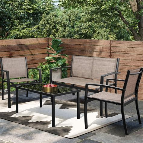 Los mejores set de muebles para aprovechar tu jardín o ...