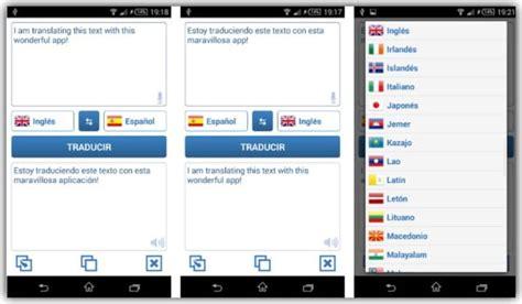 Los mejores traductores gratis para móviles  Android o ...