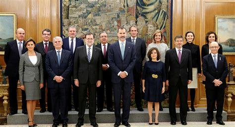 Los ministros del nuevo Gobierno de Rajoy juran su cargo ...